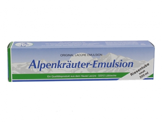 Alpenkräuter-Emulsion 200ml