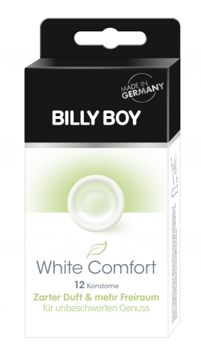 Billy Boy White comfort (12 Stück)