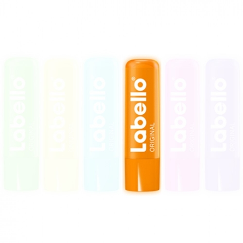 Labello Lippenpflege Original Neon 4,8g - Farbe: Orange